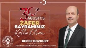 Bozkurt'tan 30 Ağustos Zafer Bayramı Mesajı..