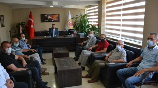 Başkan Bozkurt'tan Şuhut Kaymakamına Hayırlı Olsun Ziyareti