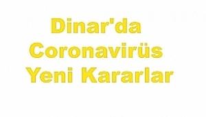 Dinar'da Koranavirüs; Çiçektepe Köyü Alınan Tedbirler..