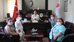 Ercan Kubaş Sanat Tiyatrosu'ndan Ziyaret