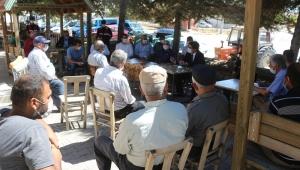 KOÇ, Üçkuyu Ve Çamözü Köylerinde Halk Toplantısı Gerçekleştirdi.
