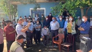 Köksal'dan Dinar'da Patates Üreticisine Destek