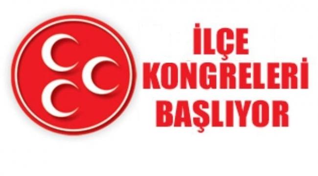 MHP Afyonkarahisar'da ilçe kongreleri 25 Ağustos'ta başlayacak