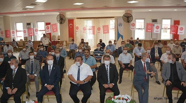 MHP'de Mustafa Karahan Tekrar Başkan Seçildi..