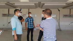 Sağlık İl Müdürü Korkmaz Yoğun Bakım Servislerini ziyaret etti.