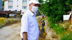 Başkan Bozkurt Doğal Gaz çalışmalarını inceledi.