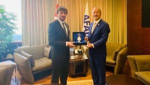 Taytak'tan AFAD Başkanı Güllüoğlu'na ziyaret