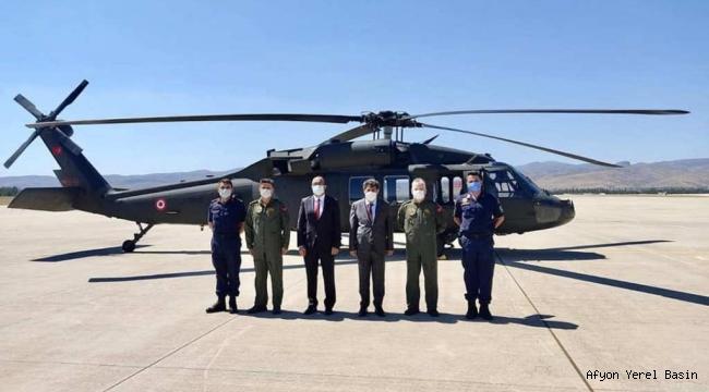 Tortop, Helikopter İle Havadan Takip Edilen Yol Kontrollerine Katıldı..