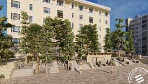 Ulu Camii Bahçesi Restorasyonu Başladı
