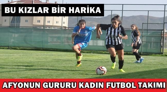 Afyon İdman Yurdu Kadın Futbol Takımı hız kesmiyor!