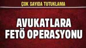 AVUKATLARA YÖNELİK FETÖ OPERASYONU 60 GÖZALTI..