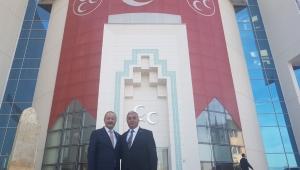 Başkan Algül'den Milletvekili Taytak'a Teşekkür.