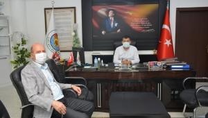 Başkan Bozkurt'tan Çay Belediye Başkanı Dr.Hüseyin Atlı'ya Ziyaret