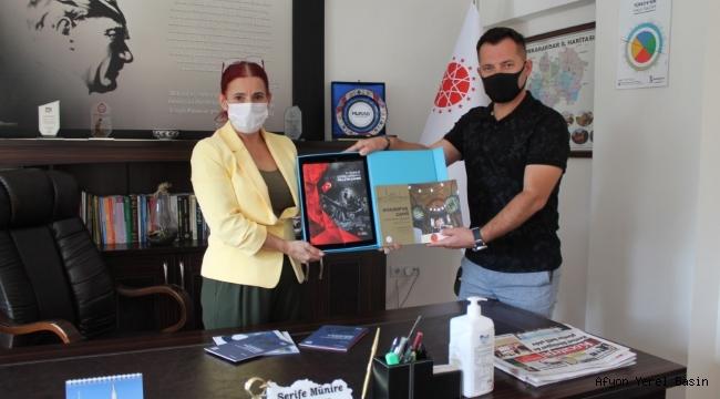 Çınaroğlu'ndan Bölge Müdürü Burcu'ya Ziyaret