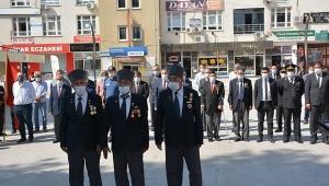 Dinar'da Gaziler Günü törenle kutlandı
