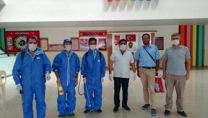 Dinar Toki Okulları Dezenfekte Edildi.