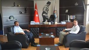 Emniyet Müdüründen Başkan Sarı'ya Ziyaret..