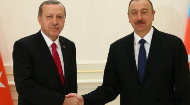 Erdoğan, Azerbaycan Cumhurbaşkanı Aliyev İle Telefonda Görüştü.