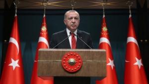 Erdoğan, Şehit Türk Kızılay Personelinin Ailesine Başsağlığı Diledi.