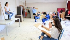 Güzel Sanatlar Fakültesi Özel Yetenek Sınavları Tamamlandı.