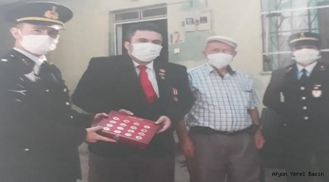 JANDARMA'DAN GAZİLERE ZİYARET