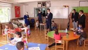 Kaymakam Ali Ekber ATEŞ , öğrencileri ziyaret etti