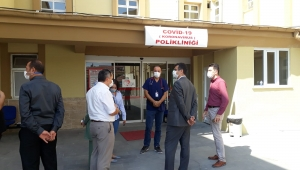 Korkmaz, Bolvadin Devlet Hastanesinde İncelemelerde Bulundu.
