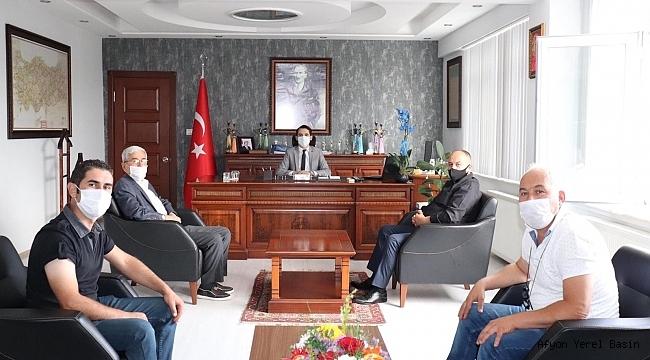 MHP Dazkırı İlçe Teşkilatı, Sercan Sakarya'yı Ziyaret Etti