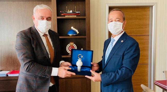 Milletvekili Taytak'tan Genel Müdür Karahan'a hayırlı olsun ziyareti