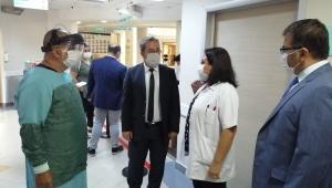 Özel Hastanelere Covid-19 Denetimi Yapıldı