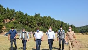 Pınarlı (Norgas) Tabiat Parkında Çalışmalar Başlayacak