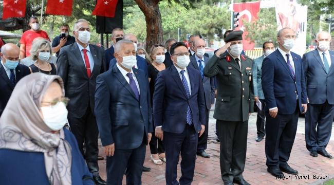 Şehit Deniz Pilot Yüzbaşı Erdinç Şatırer Anıtı Açıldı
