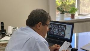 Tortop, Okul Müdürleri ile Video Konferans Görüşmesi Gerçekleştirdi.