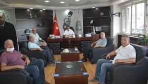 Toy Ve Faik Karakoç'dan Başkan Sarı'ya Ziyaret.