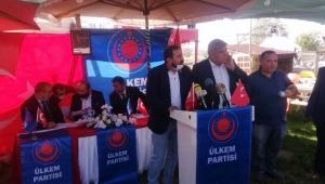 Ülkem Partisi Merkez İlçe Başkanlığı Kongresi yapıldı..