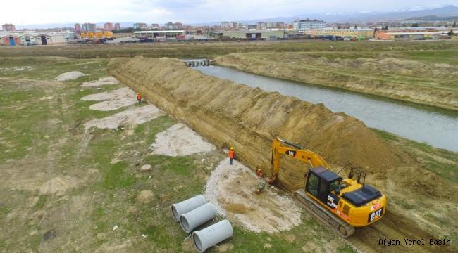 Akarçay Havzası Kuzey Atıksu Toplama Hattı İnşaatı Çalışmaları Devam Ediyor…