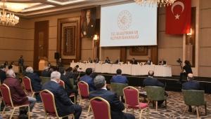 Bakan Adil Karaismailoğlu Belediye Başkanları ile Toplantı Yaptı