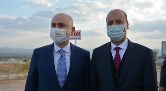 Başkan Bozkurt Bakan Karaismailoğlu ile görüştü