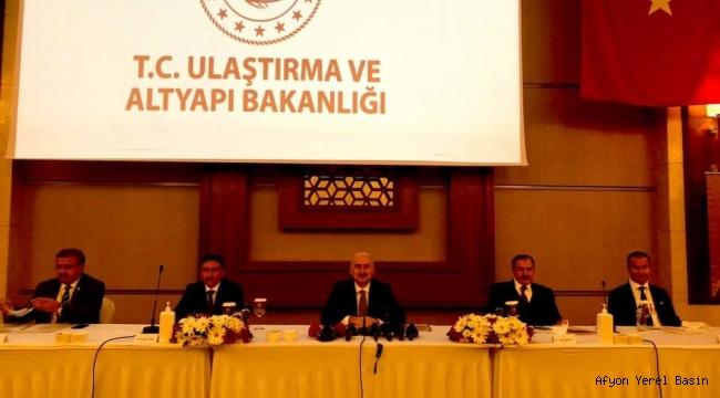 Başkan Koyuncu, Bakan Karaismailoğlu'na talepleri iletti