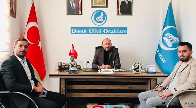 Başkan Timur'dan Dinar'a Ziyaret