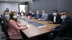 CHP HEYETİNDEN AFSİAD'A ZİYARET..