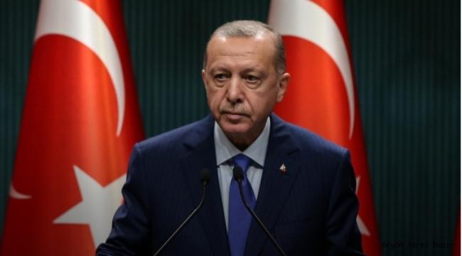 """Cumhurbaşkanı Erdoğan: """"İzmir'de meydana gelen depremden etkilenen tüm vatandaşlarımıza geçmiş olsun"""""""
