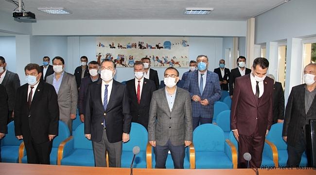 Dinar'da 19 Ekim Muhtarlar Günü Özel Bir Toplantı İle Kutlandı