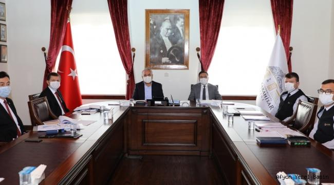 İçişleri Bakan Yardımcısı Vali Mehmet Ersoy Asayiş Değerlendirme Toplantısı'na Katıldı