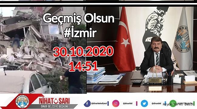 Nihat Sarı'dan İzmir Depremi ile ilgili açıklama