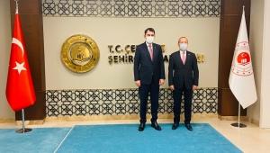 Taytak, Ankara'da bakanlık ziyaretlerine devam ediyor