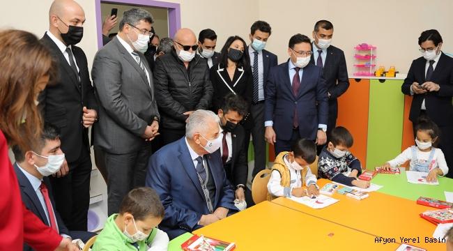 Zeynur Çetinkaya Kızılay Anaokulu Törenle Açıldı