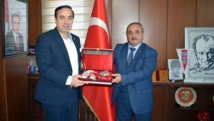ATİK Genel Başkanı Aziz Şahin'den, Başkan Ahmet Şahin'e Ziyaret