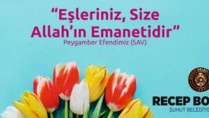 Başkan Bozkurt'tan 25 Kasım Kadına Yönelik Şiddete Karşı Mücadele Günü Mesajı