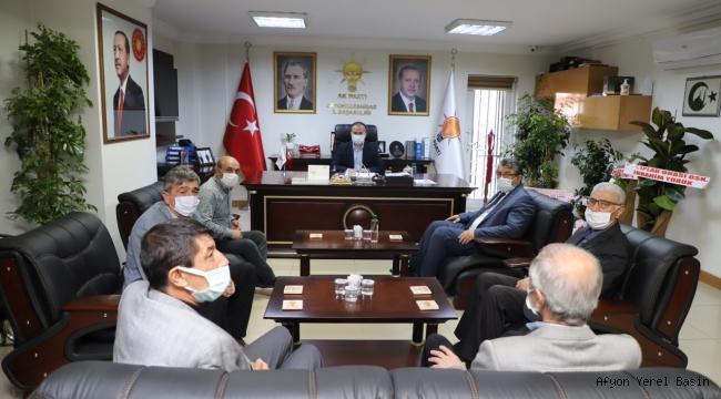 ESNAF VE SANATKARLARIN TALEPLERİ BAKAN PEKCAN'A İLETİLDİ
